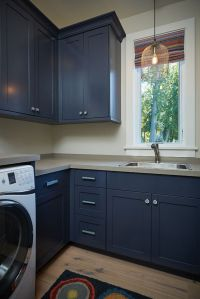 17 Best ideas about Navy Cabinets on Pinterest | Navy ...