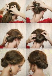 easy hairstyles step-step