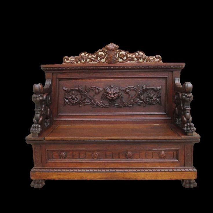 Antique Gothic Victorian Bedroom Furniture