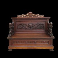 Antique Gothic Victorian Bedroom Furniture