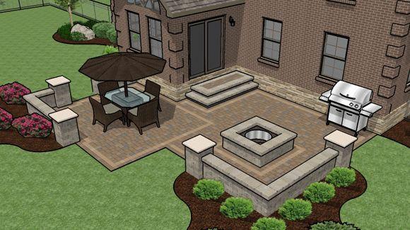 Patio Design Ideas With Pavers