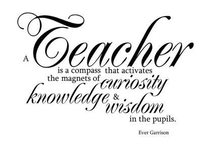 Celebrating Teacher Appreciation Week! Tell a Teacher