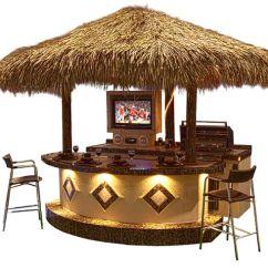 Prefab Outdoor Kitchens 4 Person Kitchen Table Tahiti--our (minus The Tiki Hut) | Details ...
