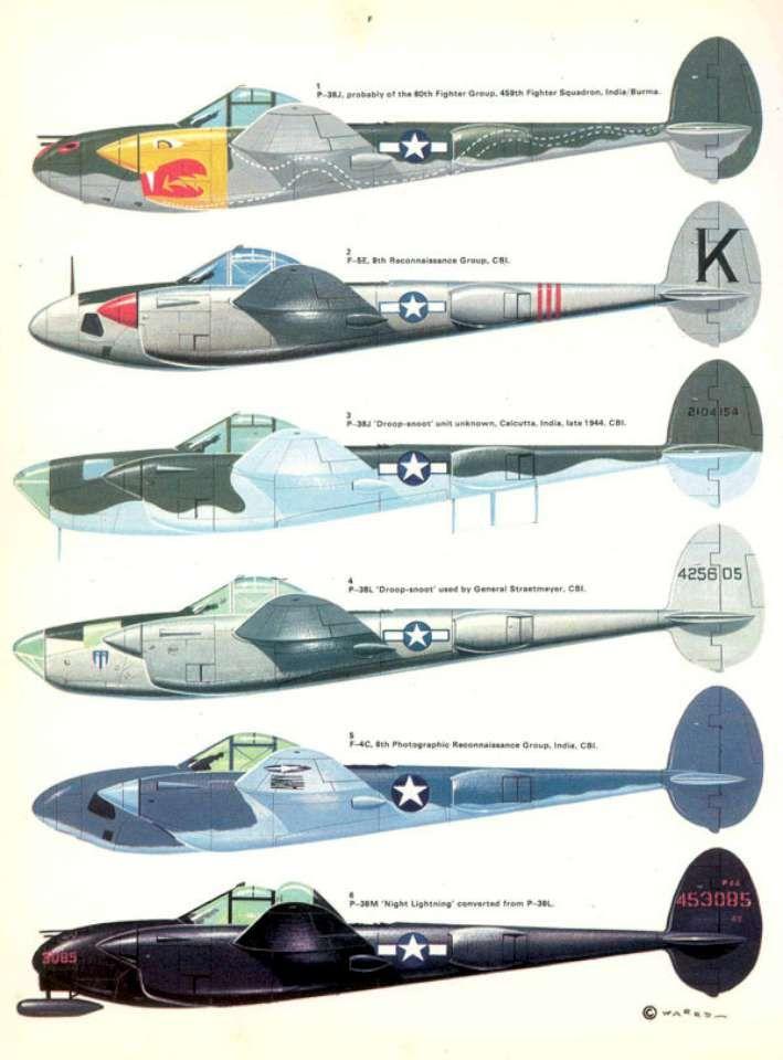 P Scheme Color Lightning 38