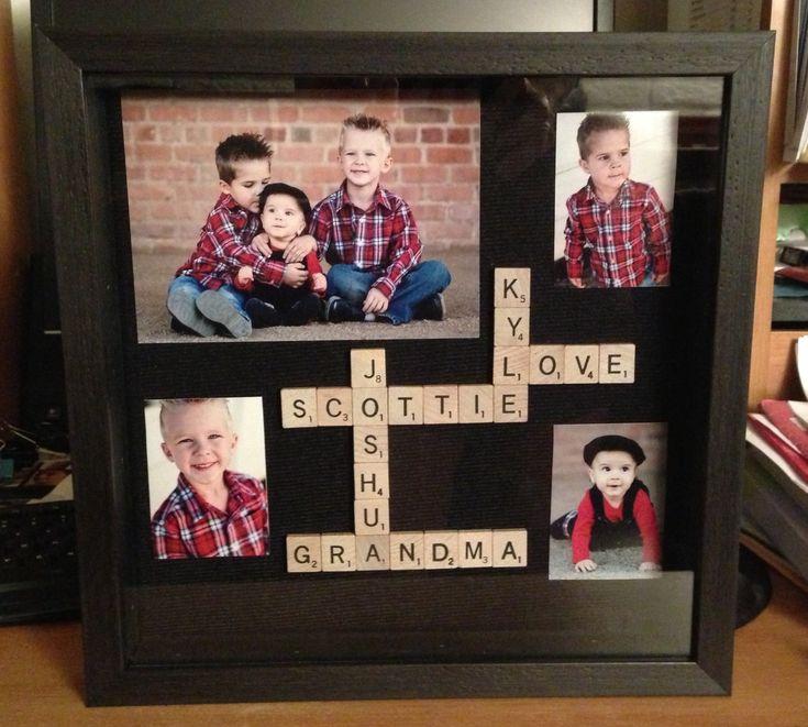 Diy grandma gift for christmas bday or mothers day