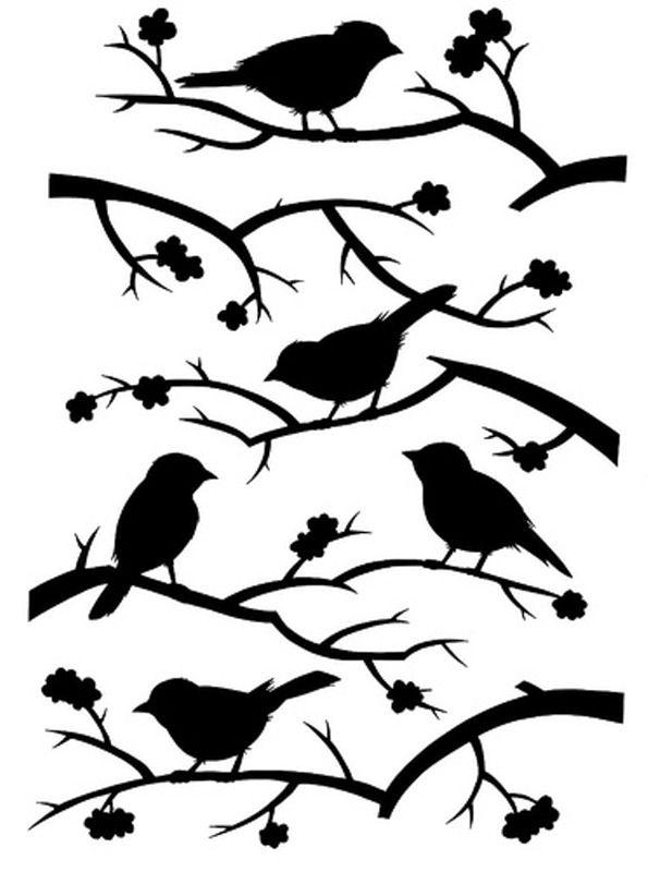 25+ Best Ideas about Stencil Patterns on Pinterest