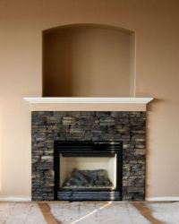 Cultured Stone Fireplace Surround - WoodWorking Projects ...