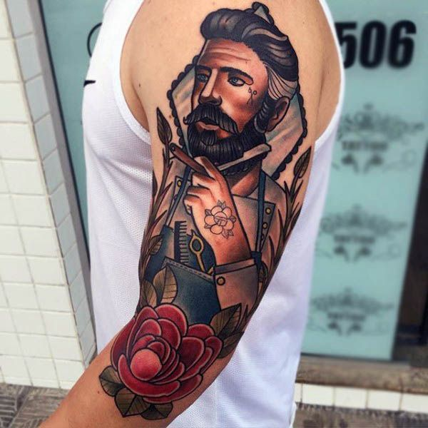100 Neo Traditional Tattoo Designs For Men  Tattoos For