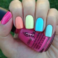 17 Best ideas about Bright Summer Nails on Pinterest | Fun ...