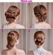 sleek hair styles formal