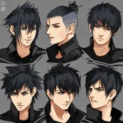 anime hairstyles ideas