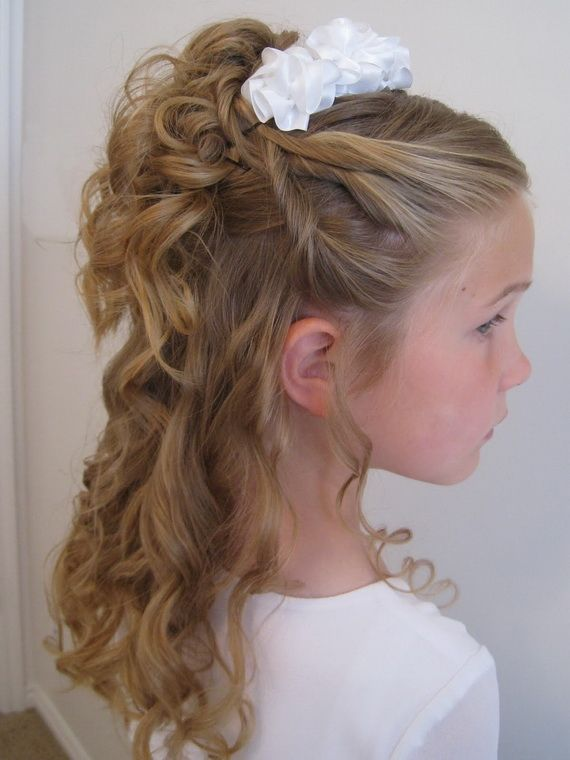 25 Best Ideas About Kids Updo Hairstyles On Pinterest Kid Hair