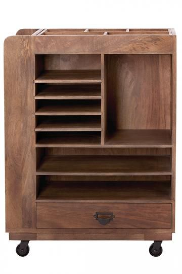 Wooden Bathroom Storage Cart  WoodWorking Projects  Plans