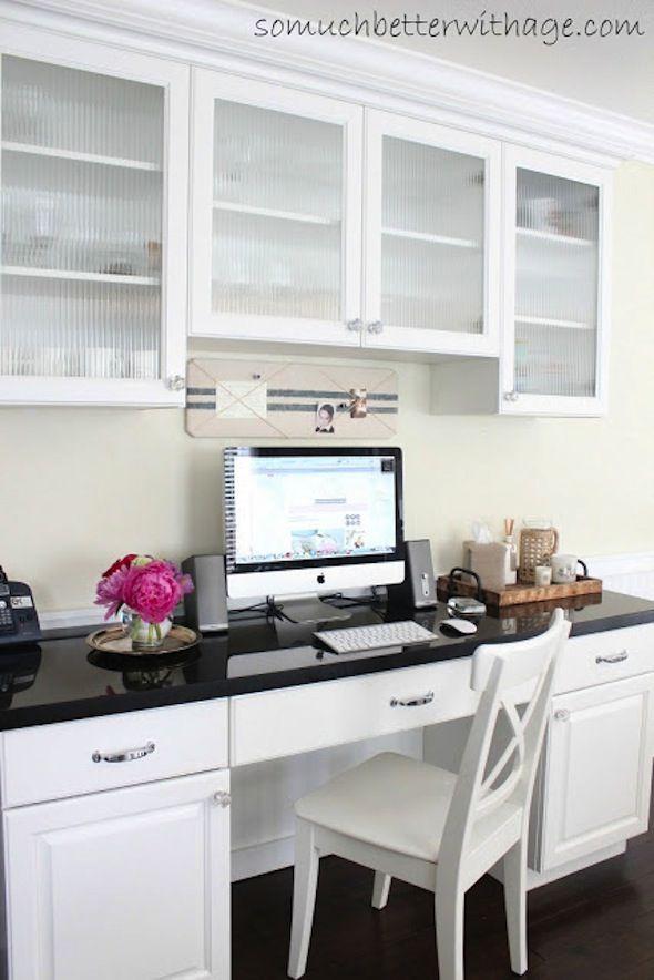 25+ best ideas about Kitchen desks on Pinterest