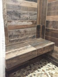 Best 25+ Wood tile shower ideas only on Pinterest | Large ...