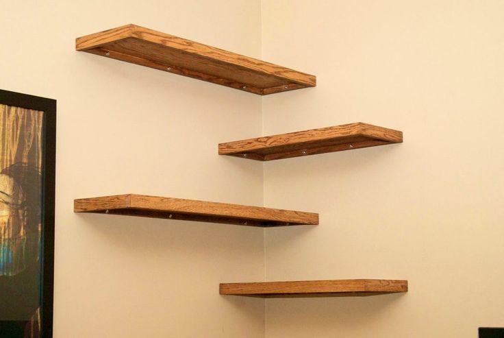 25 Best Ideas About Corner Wall Shelves On Pinterest