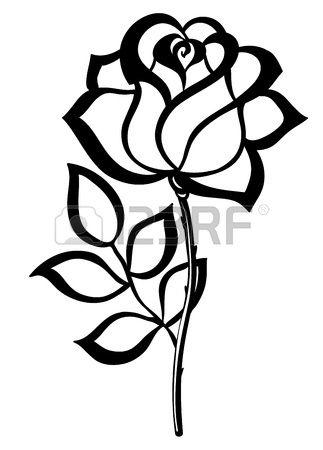 Flower Silhouette Clipart