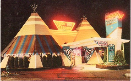 Twin TeePees Restaurant  Lounge Seattle WA by SportSuburban via Flickr  Teepees  Pinterest