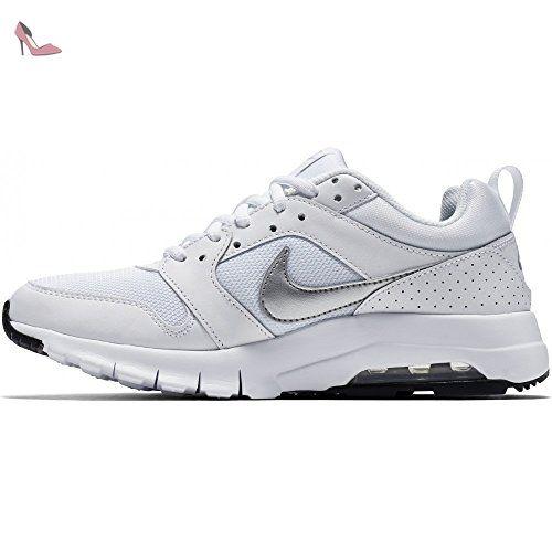 nike wmns air max motion chaussures de sport femme blanc blanc argente