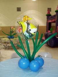under the sea under the sea decorations with balloons ...