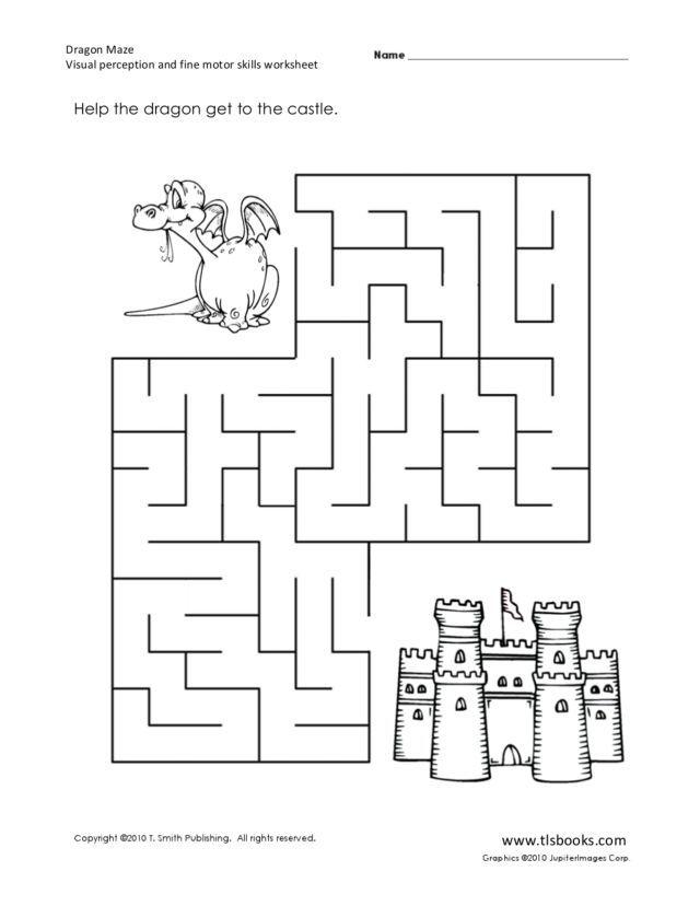 192 best images about Kids worksheet mazes on Pinterest