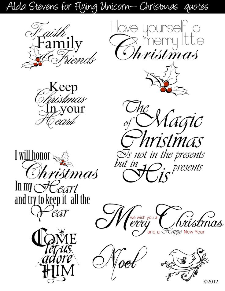 17 Best ideas about Christmas Card Sayings on Pinterest