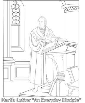 Clip Art Church Protestant Reformers
