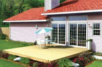 Easy Patio Deck - Project Plan 90001 | Patio, Decks and ...