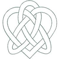 Heart, Heart knot and Knots on Pinterest
