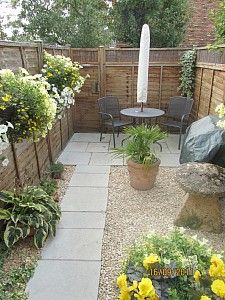 25 Best Ideas About Small Back Gardens On Pinterest Small