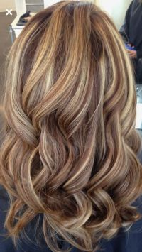 25+ best ideas about Blonde caramel highlights on