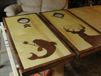 corn hole board designs ideas   Deer hunting and bow ...