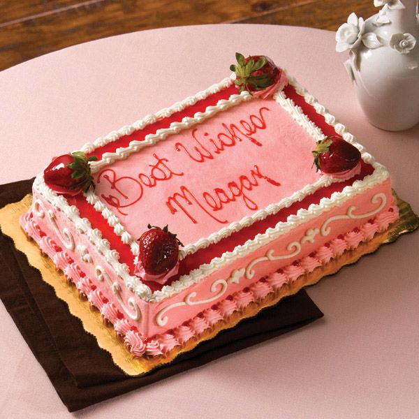 Strawberry Blast My New Favorite Cake From Publix Anyone
