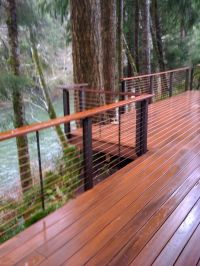 Cable Deck Railing Designs - WoodWorking Projects & Plans