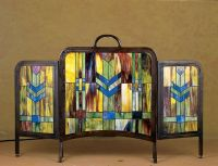 1000+ ideas about Stained Glass Fireplace Screen on ...