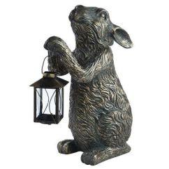Kitchen Island Lanterns Table Benches Bunny Tealight Lantern   Outdoor Decor Pinterest L ...