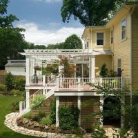 17 Best images about landscaping around deck on Pinterest ...