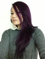 eggplant #salonfree #hairdye #haircolor