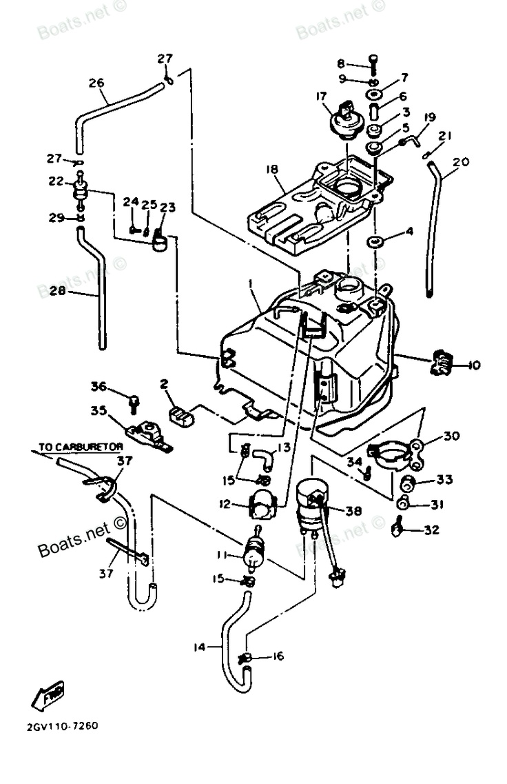 Virago 250 Fuel Filter Auto Electrical Wiring Diagram Related With