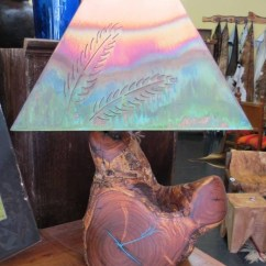 Rustic Kitchen Table Campingaz Mesquite Lamps_ Description: With Turquoise Inlay ...