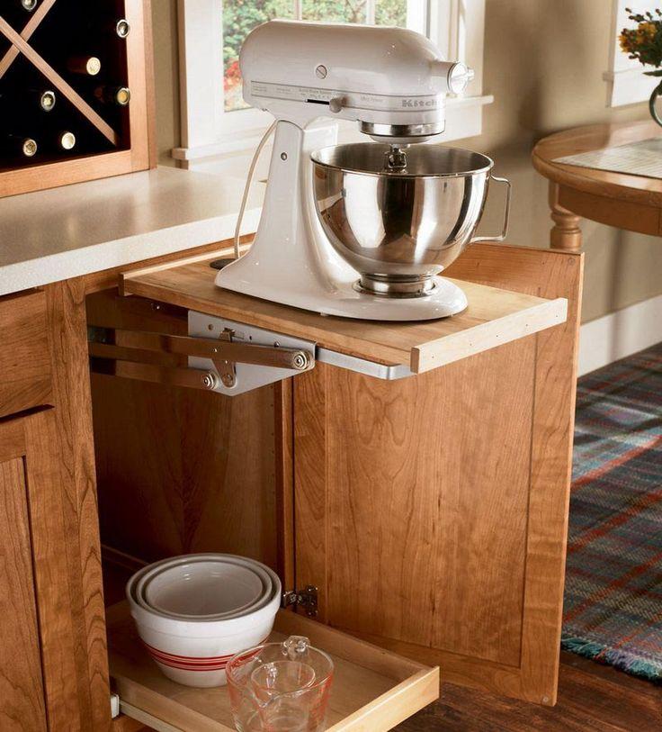 Image Result For Kitchen Mixer Pop Up Shelf