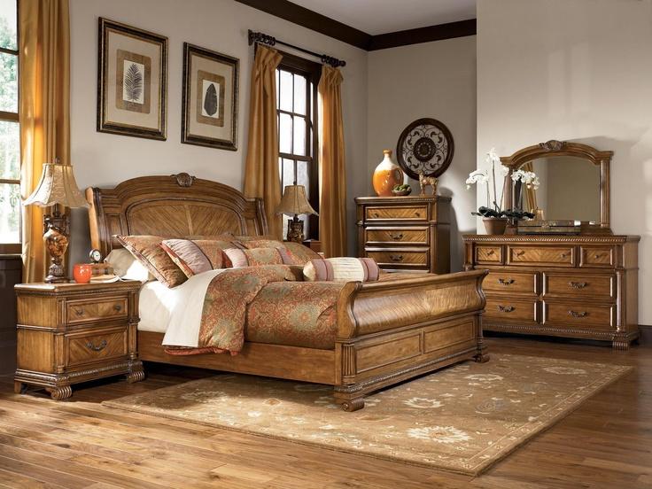Ashley millennium clearwater b680 king sleigh bedroom