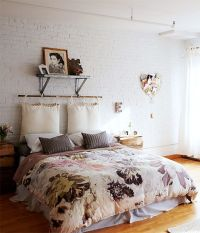 25+ best ideas about Pillow headboard on Pinterest