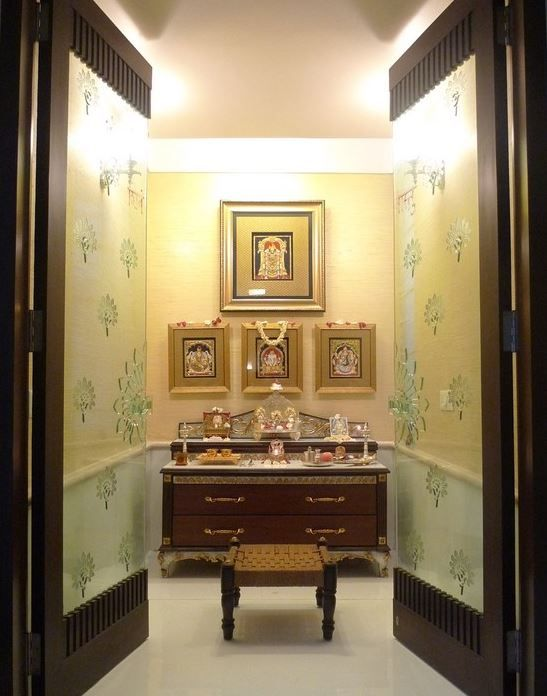 272 Best Images About Pooja Room Design On Pinterest Ganesh