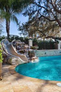 1000+ ideas about Pool Slides on Pinterest | Swimming Pool ...