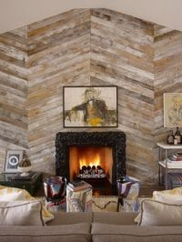 17+ best ideas about Fireplace Accent Walls on Pinterest
