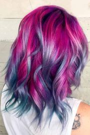 ideas magenta hair