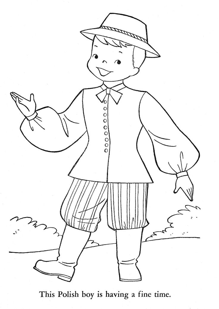 178 best images about VINTAGE COLORING PAGES on Pinterest