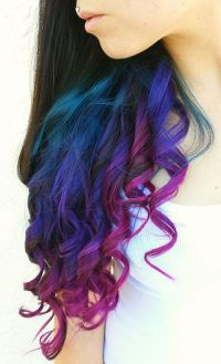 Best 20+ Colored hair tips ideas on Pinterest | Dip dyed ...