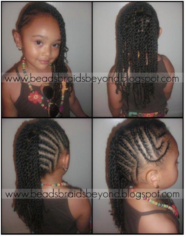 Cute Braided Hairstyles For African American Little Girls Hair